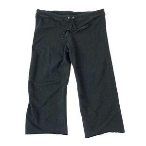 Michael Stars Black Capri Sweatpants
